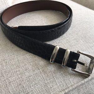 Other - Italian men's leather belt